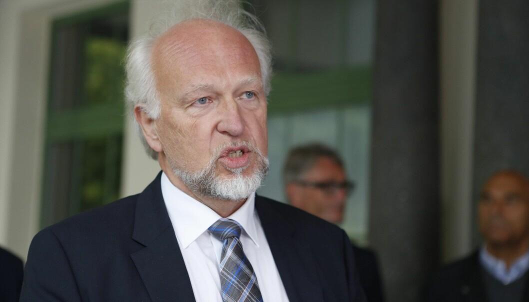 Fagtillitsvalgte ved Oslo universitetssykehus varsler i et brev at de ikke lenger har tillit til sykehusets administrerende direktør Bjørn Erikstein. (Foto: Torstein Bøe, NTB scanpix)