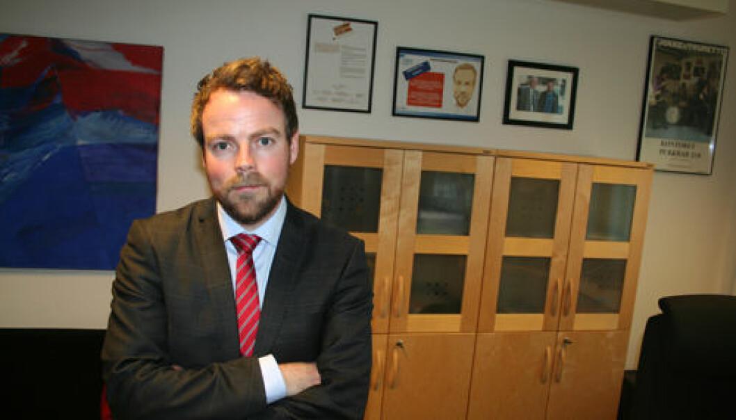 Kunnskapsminister Torbjørn Røe Isaksen har satt ned ekspertgruppe for å gjennomgå hvordan Norges forskningsråd fordeler midler. (Foto: Asle Rønning)
