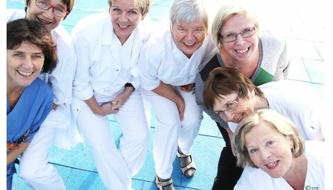 Seniorene på St. Olavs Hospital står lenger i arbeid enn de gjorde tidligere. Sykehuset har satset på flere tiltak for å motivere dem til å fortsette og for å videreutvikle kompetansen deres.  (Foto: St. Olavs Hospital)