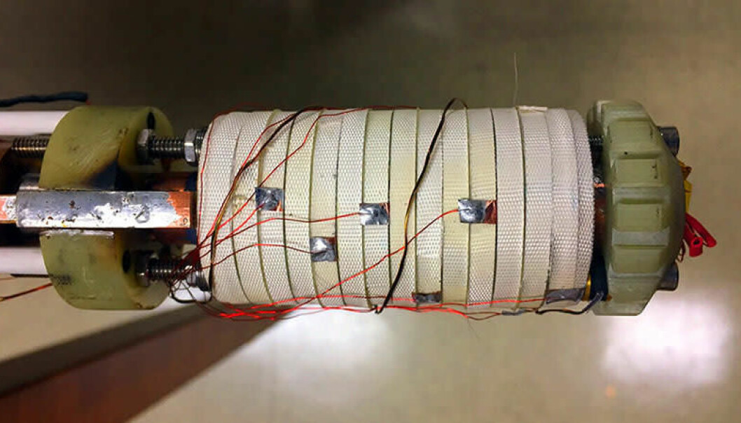 Magneten har fått navnet Little Big Coil 3. (Bilde: Fra studien Seungyong Hahn mfl: 45.5-tesla direct-current magnetic field generated with a high-temperature superconducting magnet, Nature, juni 2019)