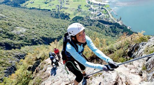 Mange vil ha aktiv Norgesferie