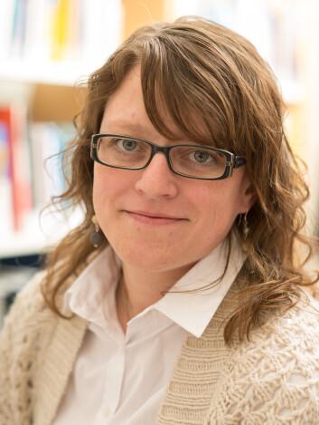 Forsker Marianne Skogbrott Birkeland. (Foto: NKVTS)