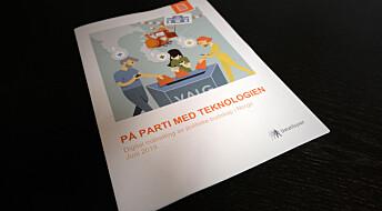 Ny rapport: Politiske partier kan bruke persondataene dine til å vinne valg. Men gjøres det i Norge?