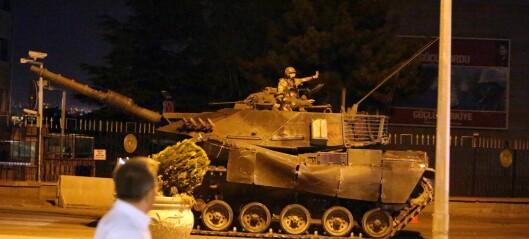 Podcast: Hva skal til for at et militærkupp lykkes?