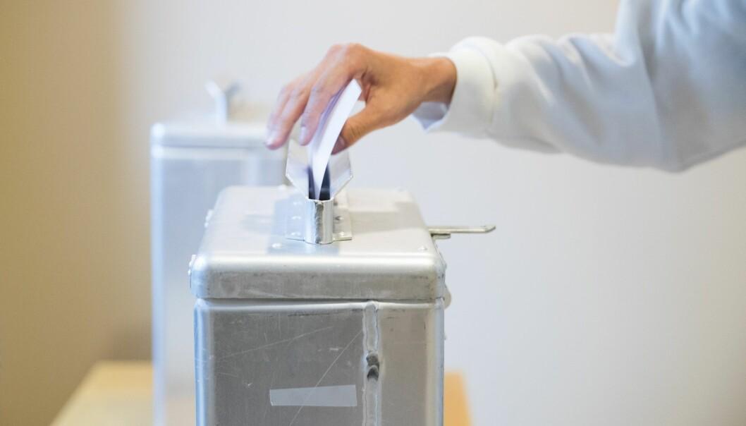 Flere norske borgere med innvandrerbakgrunn stemte ved stortingsvalget i 2017 enn ved valget fire år tidligere. (Foto: Håkon Mosvold Larsen, NTB scanpix)