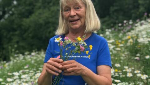 cb94a290 Vi må lære barna våre mer om blomster, mener botaniker Kristina Bjureke.  Fortell ungene