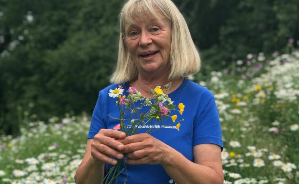 Vi må lære barna våre mer om blomster, mener botaniker Kristina Bjureke. Fortell ungene navn på ville planter, i stedet for å mase om hvor langt de har gått. (Foto: Siw Ellen Jakobsen)