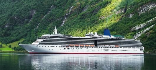 Turistbåter forurenser mye i Norge
