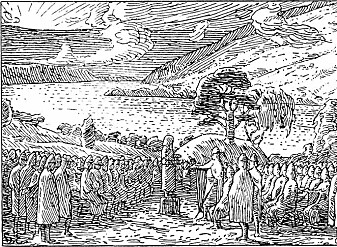 Vikingene tålte ikke fornærmelser