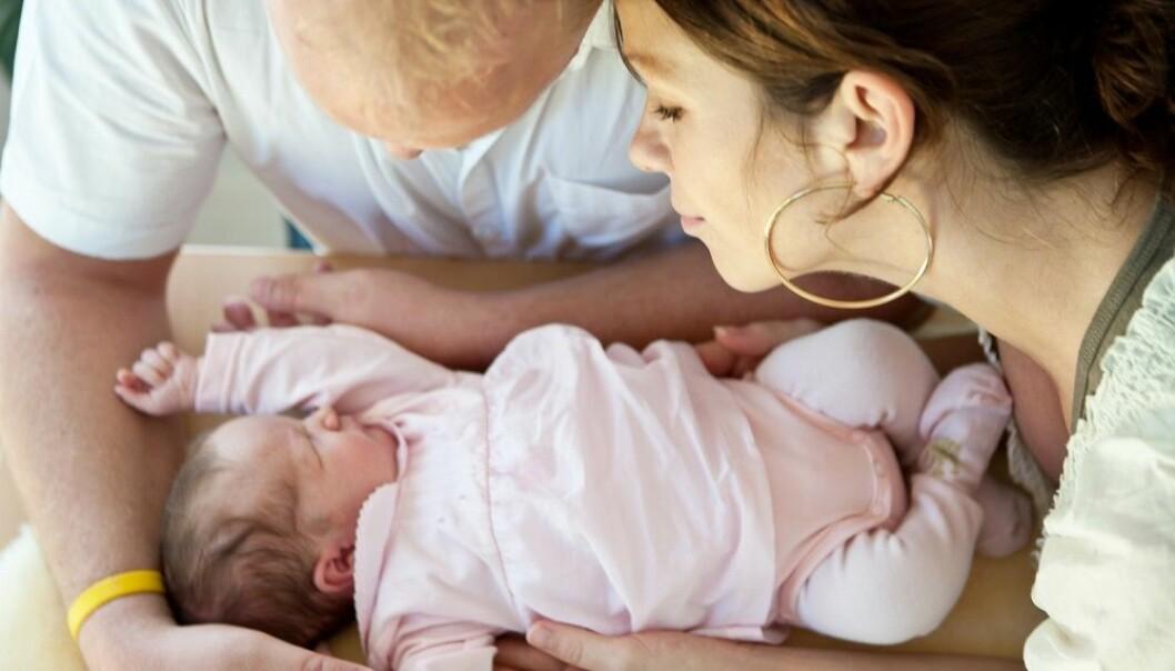 Tre av fire par som går til en fertilitetsklinikk for å bli gravide, ender med å få barn innen fem år. Kvinnens alder er veldig viktig for om behandlingen lykkes.  (Illustrasjonsfoto: Martin Allinger / Shutterstock / NTB scanpix)