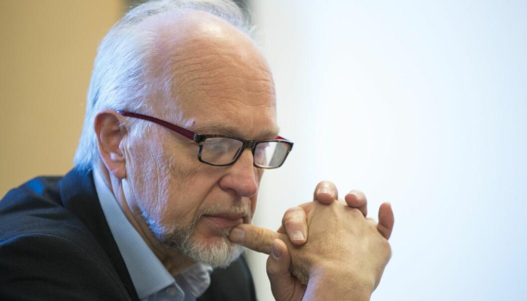 Mandag besluttet styret ved Oslo universitetssykehus at de har tillit til administrerende direktør Bjørn Erikstein (bildet), men han ønsker selv å gå av. (Foto: Terje Pedersen, NTB scanpix)