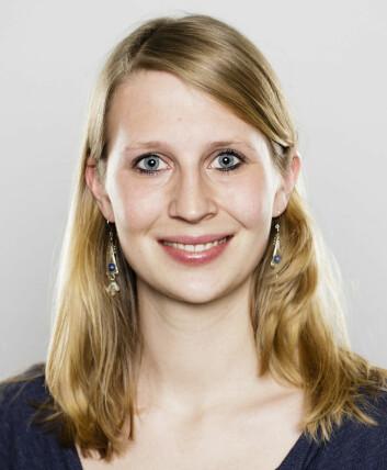 Christina Steppeler, NMBU. (Foto: (Rettigheter: C. Steppeler))