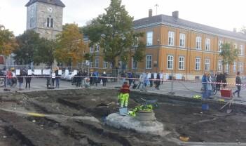 Se hva vi finner under bakken midt i Trondheim