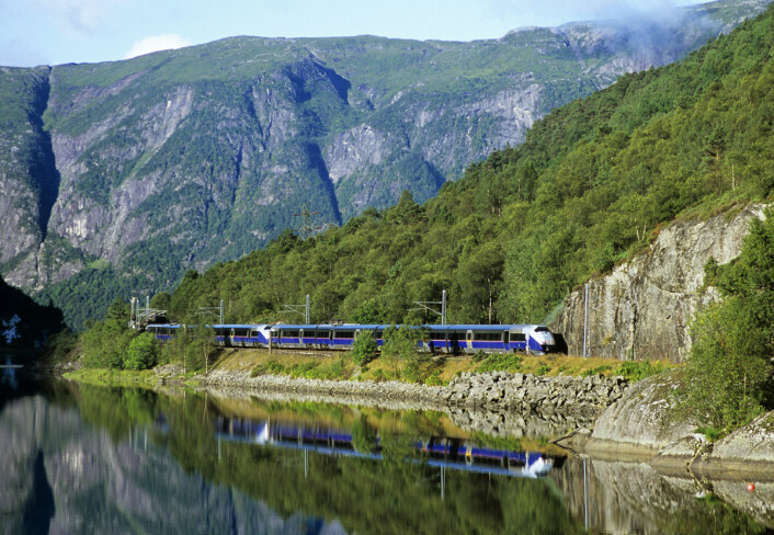 Bergensbanen. (Foto: Rolf M. Sørensen, NSB)