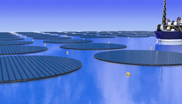 Flytende solcelleøyer kan lage drivstoff av CO2