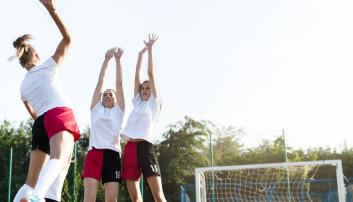 Langt færre jenter enn gutter sier de vil satse på idrett
