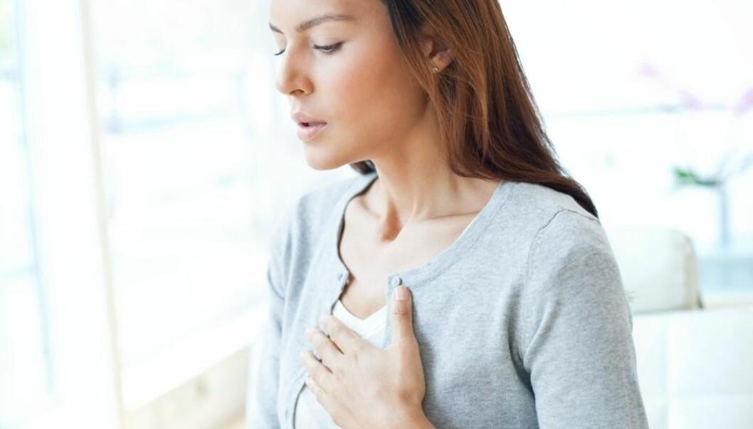 Ny forskning knytter stresshormonet kortisol til hjerte- og karsykdommer. Men hvor mye hormonet betyr og hvordan det virker, er forskere uenige om.  (Foto: Science Photo Library/NTB scanpix)