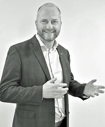 – Det er begrenset hvor mye forskning du kan få ut av et oppdrag på 100 000 kroner, sier direktøren i Trøndelag Forskning og Utvikling, Øyvind Skogsvold. (Foto: TFoU)