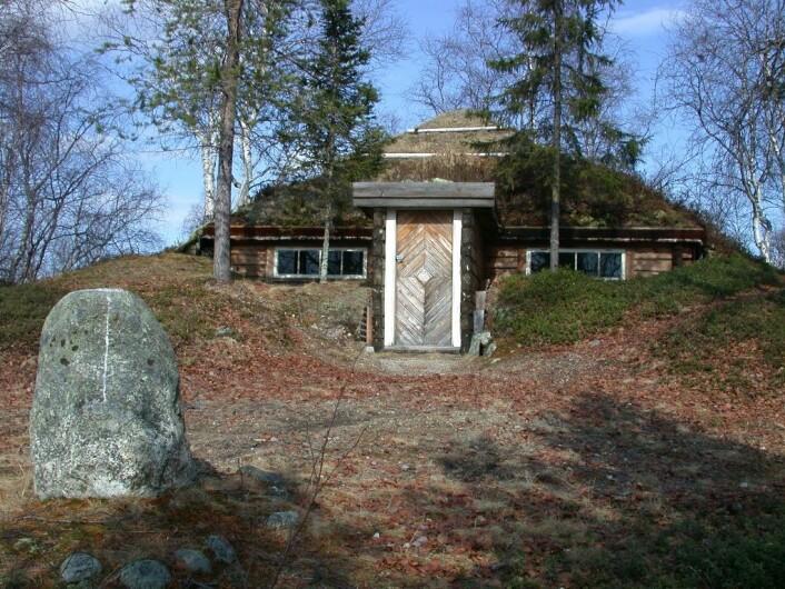 Peisestua ved Noatun. (Foto: Morten Günther)