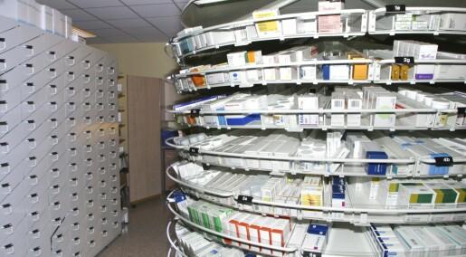 Flere kvinner enn menn får reseptbelagte legemidler