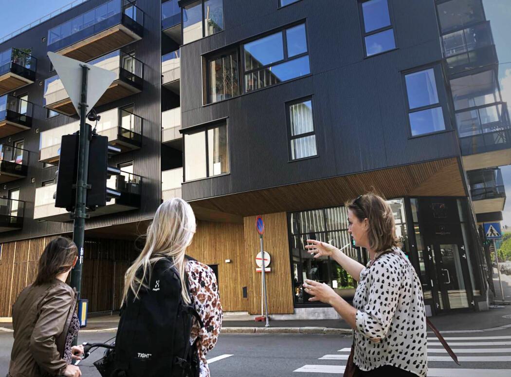Det har vært mye fokus på det innvendige i bygninger. Arkitekter ved NMBU jobber nå med relasjonen mellom bygg og gate. (Foto: Ingrid Schou)