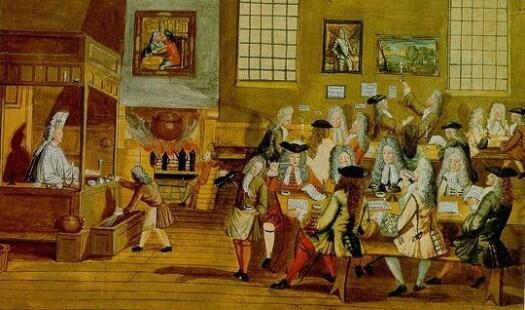 Toll-lister og 1700-tallet: skal det være en kopp kaffe?