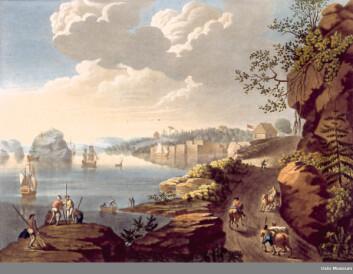 Utsikt mot Vækerø