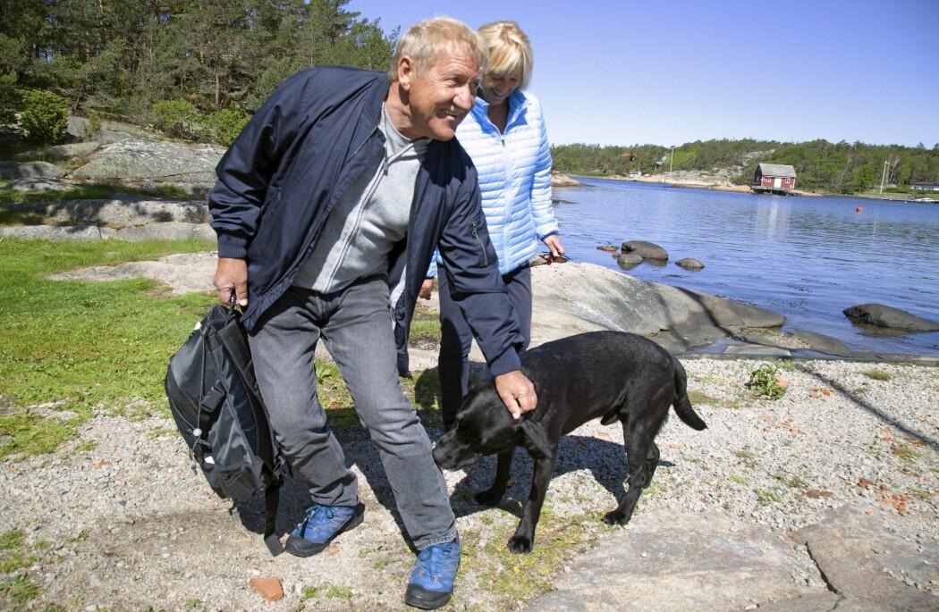 Gården gir mulighet til å være i kontakt med dyr, noe mange brukere setter pris på. (Foto: Tove Rømo Grande / NMBU)