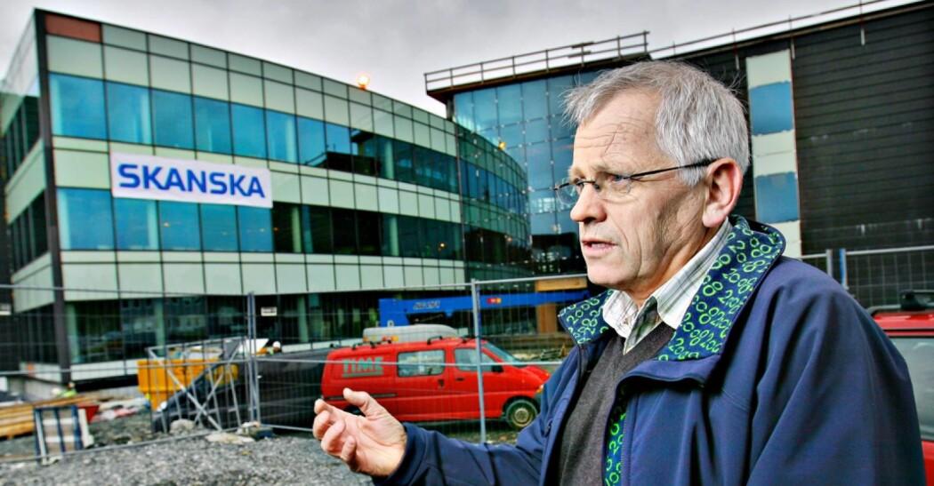 - Dette ble kanskje et av mine største prosjekt, sier Helge Bergslien, initiativtaker og primus motor bak Måltidets hus i Stavanger, som åpnet i mai 2009. Foto: Erik Holsvik