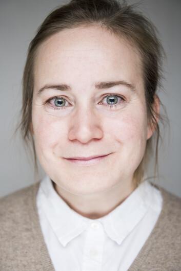 Forsker Ida Drange ved Høgskolen i Oslo og Akershus. (Foto: Benjamin A. Ward)