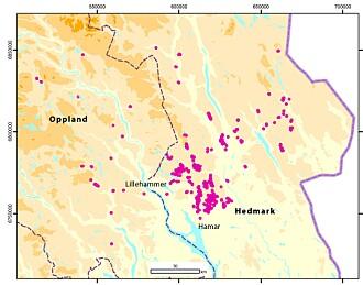 Østlandet ble rystet av kraftige jordskjelv