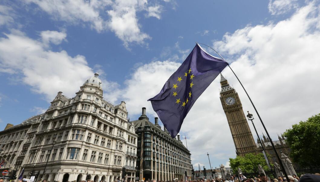 – Kriser er selve motoren i EU. Organisasjonen er skapt av en krise – den andre verdenskrigen – og EU er relativt god på å håndtere kriser, sier Jarle Trondal, professor ved Universitetet i Agder. (Foto: Paul Hackett, Reuters, NTB scanpix)