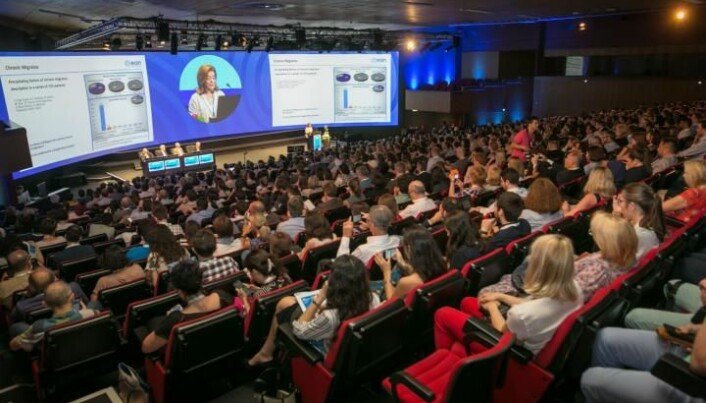 Studien ble presentert på the 5th Congress of the European Academy of Neurology i Oslo, lørdag 29. juni. (Foto: European Academy of Neurology)