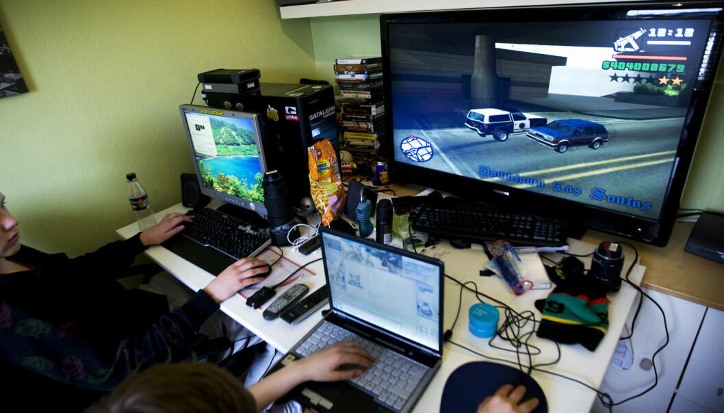 Mange lærere er skeptiske til at dataspill skal ha en plass i undervisningen. Denne skepsisen er ofte medieskapt, mener spillforsker.  (Foto: Gorm Kallestad, NTB scanpix)