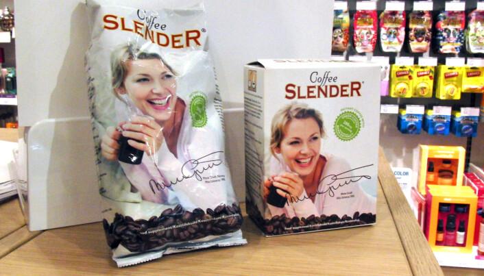 Lite tyder på at du blir slank av Coffee Slender