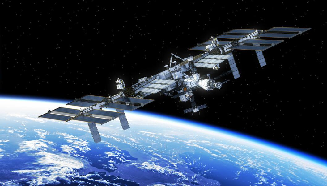 Sædceller fra mus gå friske barn etter ni måneder på den internasjonale romstasjonen ISS. Nå har forsøk på menneskesædceller i laboratoriet vist at de også tåler å være vektløse. (Illustrasjon: 3Dsculptor / Shutterstock / NTB scanpix)