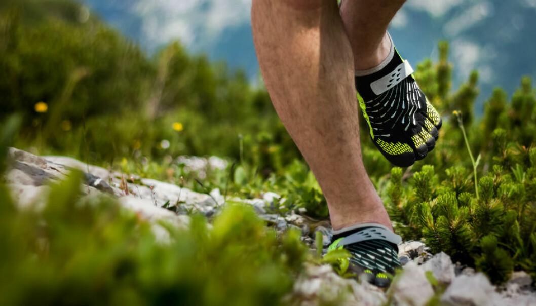 Barfotløping var den store trenden for noen år tilbake. Men hvor gunstig er det å løpe uten sko med demping? (Illustrasjonsfoto: Soeren Kracht / Shutterstock / NTB scanpix)