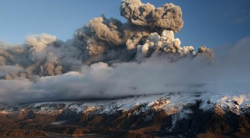 Da giftige skyer fra Island la seg over Europa