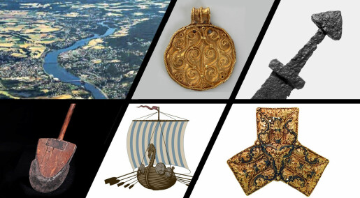 Vikingene var fra Hokksund