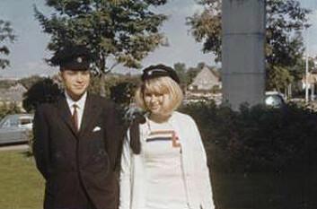 Anne-Lise Børresen-Dale ble immatrikulert ved NTH i 1965. Hun var én av 25 jenter som begynte der dette året. Fetteren Martin Brecke var én av 625 gutter som ble immatrikulert samme år. (Foto: Privat)