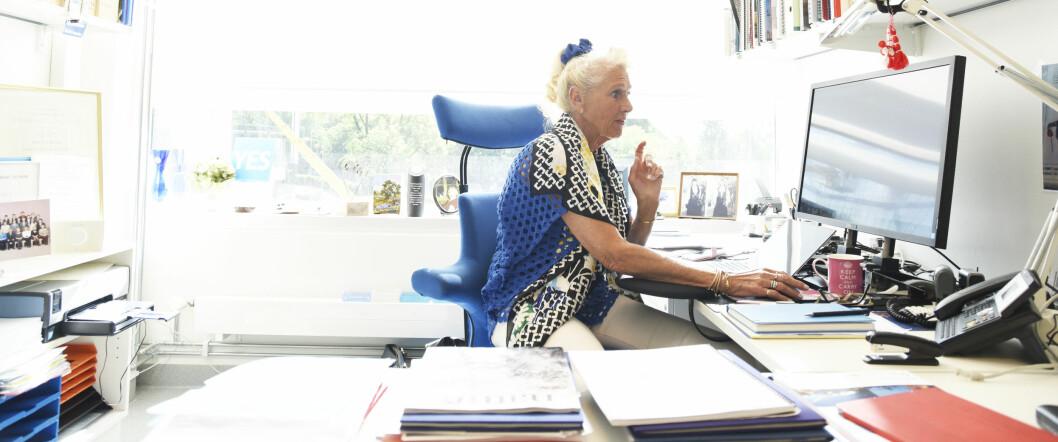 """– Jeg har gjort mye """"ulovlig"""" opp gjennom tidene, iallefall ifølge byråkratene, innrømmer Anne-Lise Børresen-Dale. (Foto: Ola Gamst Sæther)"""