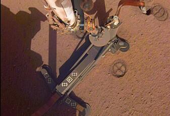 InSights muldvarp klarer ikke å grave Mars-hull
