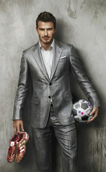 Britiske David Beckham er kanskje selve symbolet på den metroseksuelle bølgen. (Illustrasjonsfoto: Flickr/Yahoo pressebilder)