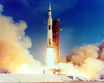 Se bildene fra Apollo 11-ferden