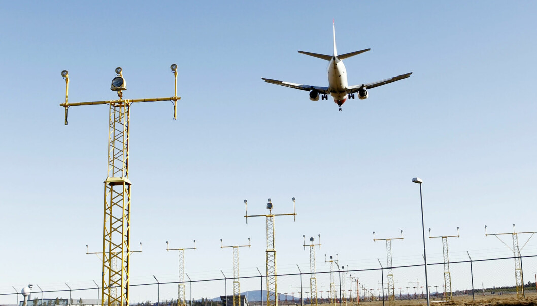 Over de neste ti til tjue årene er det forventet at antallet flyvninger over Europa vil doble seg. Dagens flyvninger er i snitt rundt 42 km lengre enn nødvendig på grunn av fragmentert flybane. (Foto: Håkon Mosvold Larsen, NTB scanppix)