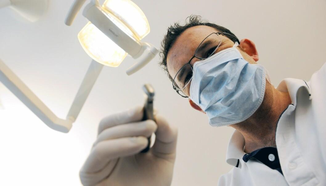 I fjor ble over én million nordmenn behandlet gjennom den offentlige tannhelsen. (Illustrasjonsfoto: Frank May, NTB scanpix)