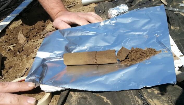 Forskerne som er med i IMPASSE-prosjektet har tatt prøver av jord som er gjødslet med kloakkslam på gårder i Spania og Canada. (Foto: NIVA)