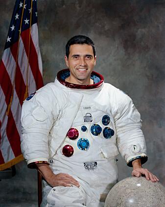Offisielt portrett-bilde av Harrison Schmitt. (Foto: NASA / offentlig eie)