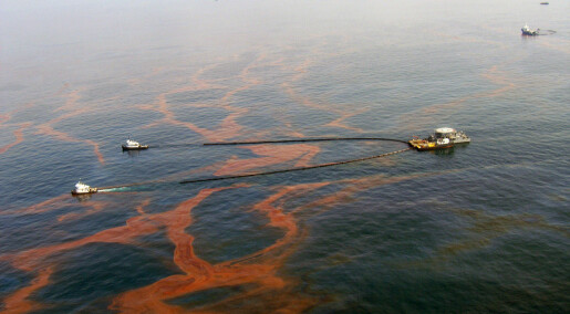 Oppdager oljesøl på havets dyp