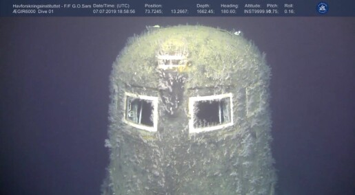 Vannprøver ved atomubåt viser radioaktive verdier en million ganger høyere enn normalen